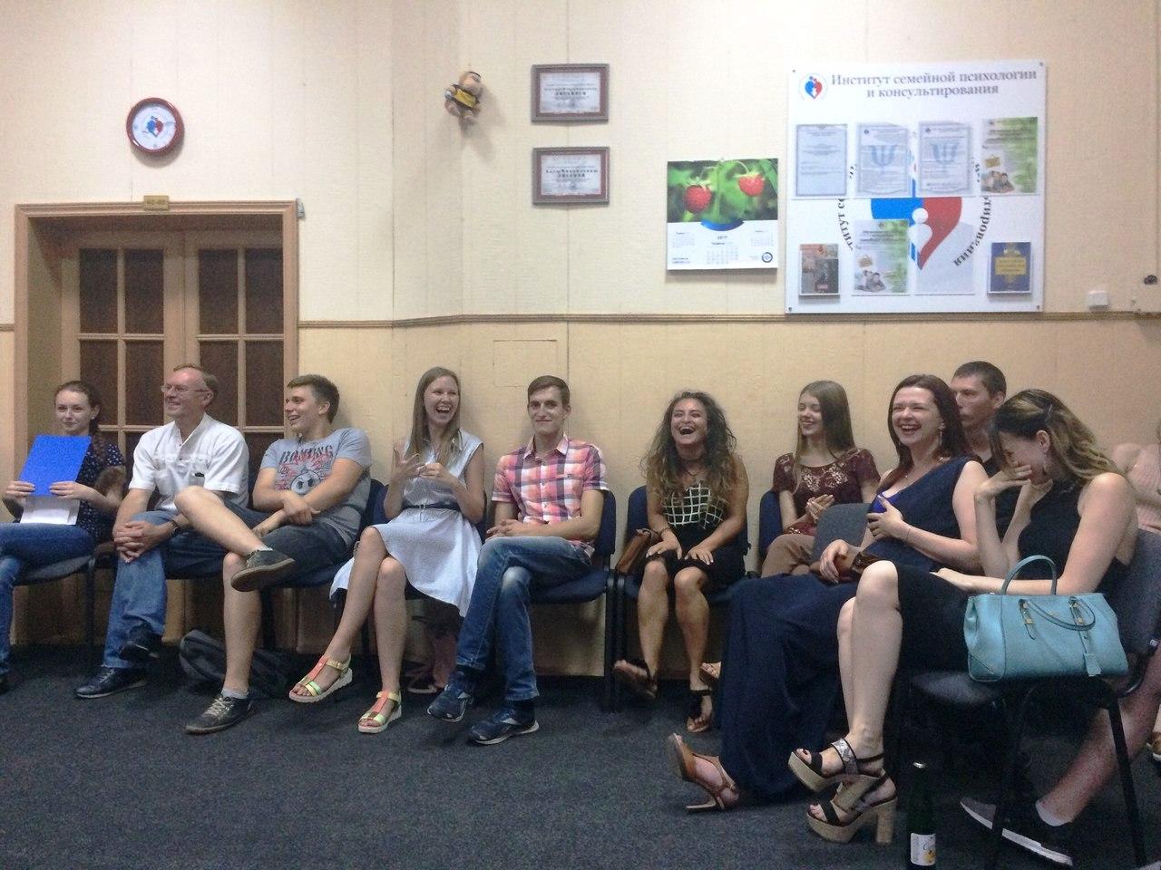 Интервизионный семинар по скриботерапии 20 июля 2014 г