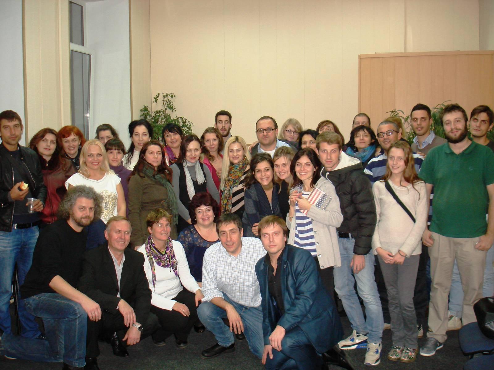 Делегация из Италии в Институте семейной психологии 3 ноября 2013г.